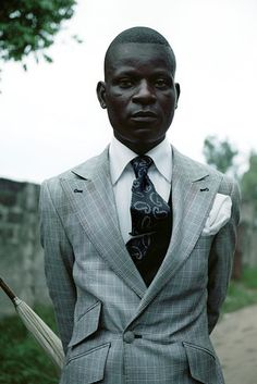 very interesting article about the Sapeurs of the Congo