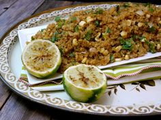 Corn & Jalapeno Skillet Quinoa - make it crispy in the skillet