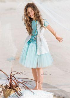 "ALALOSHA: VOGUE ENFANTS: Leny Tomy Factory Offers Sneak Peek Of Its SS17 ""Prairie Girl"" collection"