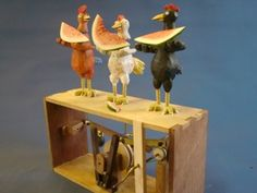 Mexican Chickens by Carlos Zapata (more a hoped for hobby)