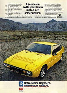 1975 Matra Simca Bagheera ✏✏✏✏✏✏✏✏✏✏✏✏✏✏✏✏ IDEE CADEAU / CUTE GIFT IDEA  ☞ http://gabyfeeriefr.tumblr.com/archive ✏✏✏✏✏✏✏✏✏✏✏✏✏✏✏✏