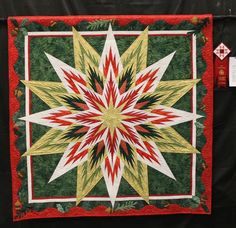 Feathered Star, Quiltworx.com, Made by Ann Adams