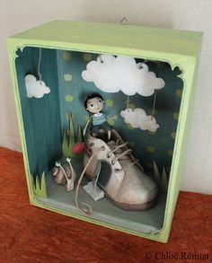 Box Home-shoe by chloeremiat on Etsy