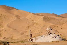China, Inner Mongolia, Badain Jaran desert