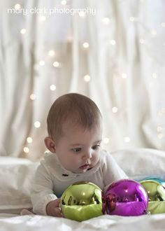 Mary Clark Photography: Avery 5 Months-Christmas Edition [Cleveland Baby Photographer]