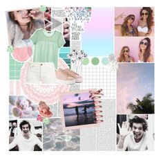 """""""Always look on the bright side of life!"""" by xcuteniallx ❤ liked on Polyvore featuring Shabby Chic, H&M, Yves Saint Laurent, Oris, Lauren Conrad and Shay"""