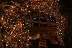 inside the Treehouse Restaurant - Alnwick Garden (UK)