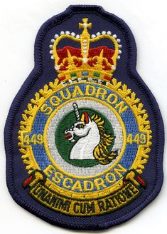 RCAF 449 Squadron Crests, Patches, Military, Kids Rugs, Modern, Trendy Tree, Kid Friendly Rugs, Family Crest, Military Man