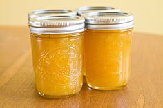 Meyer Lemon-Vanilla Bean Marmalade
