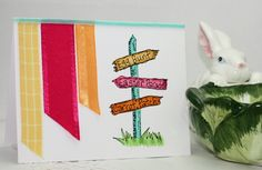 Candy Colored - Easter card