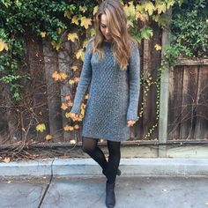 HPPRICE DROP ❣Thick Gray Sweater Dress A holiday favorite! Must have flattering sweater dress. Size medium, but fits small very well. I usually wear a small and found this size to be best for me. Worn once with absolutely no flaws. Warm and beautiful! Perfect for a holiday party or as a more casual piece. Dress up or down! GAP Dresses Long Sleeve