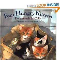 Four Hungry Kittens- wordless book