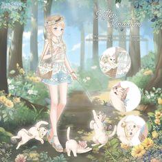 Anime Girl Dress, Nikki Love, Anime Couples Manga, Anime Girls, Beautiful Anime Girl, Anime Outfits, Skateboard Girl, Fantasy Creatures, Hair Ornaments