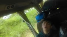 On the way to arenal