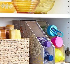 Small Kitchen Ideas to save space. Wire wall mounted storage basket solutio… Small Kitchen Ideas to save space. Wire wall mounted storage basket solutions for tiny kitchen spaces. Kitchen Organization Ideas for Small Spaces Small kitchen ideas. Space Saving Kitchen, Small Kitchen Organization, Small Space Kitchen, Small Space Storage, Kitchen Storage, Organization Ideas, Small Spaces, Magazine Organization, Storage Cabinets