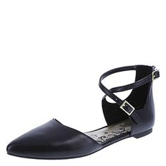 284eba21796d Be on point this season with the Alana Flat from Brash. It features a  trendy two-piece design with woven pointed toe