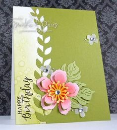 M.A.D. Stamper: Tuesday, January 26, 2016 Botanical Blooms, Rose Wonder, Botanical Builder Framelits, Itty Bitty Accents Punch Pack