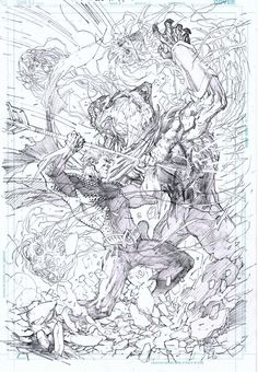 Aquaman cover art by Jim Lee! (DC comics)