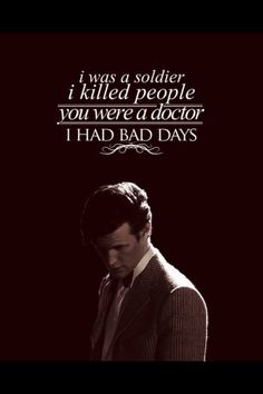 Doctor Who with a Sherlock quote.