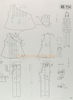 Japanese Sewing Patterns, Bodice Pattern, Japanese Books, Book And Magazine, Ladies Boutique, Baby Patterns, Clothing Patterns, Handicraft, Charts