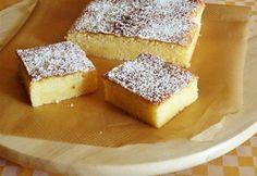 Olasz citromos sütemény Cornbread, French Toast, Sandwiches, Cheesecake, Muffin, Food And Drink, Vegetarian, Sweets, Vegan