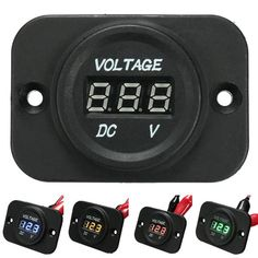 12V-24V Waterproof LED Voltmeter Voltage Meter Gauge Car Boat Marine Motorcycle  Worldwide delivery. Original best quality product for 70% of it's real price. Buying this product is extra profitable, because we have good production source. 1 day products dispatch from warehouse. Fast &...