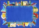 """Checkout the """"Read to Succeed© Classroom Rug, 3'10"""" x 5'4"""" Rectangle"""" product"""