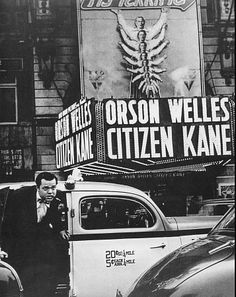 """""""Citizen Kane,"""" starring Orson Welles, Joseph Cotton and Dorothy Comingore. Directed by Herman J. Mackiewicz."""
