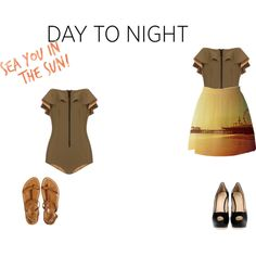 """""""Day to Night: Swimsuits"""" by fiveidiotswhocantdanceverywell on Polyvore"""
