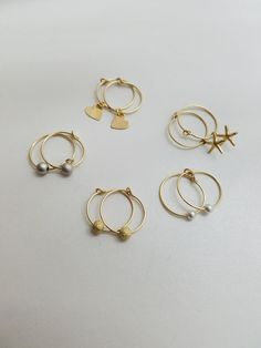 Tiny Hoop Earrings Hoop Earrings Gold Hoop Earrings with