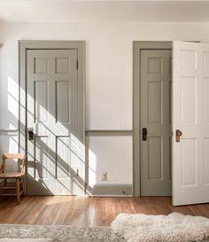 Interior Trim, Interior And Exterior, Country Interior, French Interior, Interior Walls, Style At Home, Casa Real, Painting Trim, Trim Color