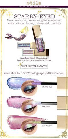 Stila Duo-Chrome Glitter & Glow eyeshadow
