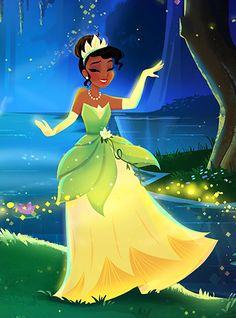Новая картинка с принцессой Тианой
