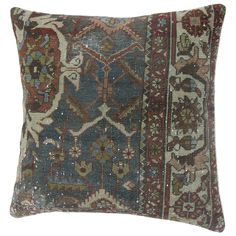 Persian Malayer Pillow | From a unique collection of antique and modern pillows and throws at https://www.1stdibs.com/furniture/more-furniture-collectibles/pillows-throws/