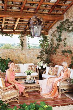 Eileen Guggenheim's Italian Home  in Tuscany, Italy