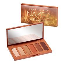 This is one hot little palette. Naked Petite Heat is a compact eyeshadow palette featuring six a...