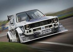 Volkswagen Golf GTI mark 1 - Forge Motorsport - Berg Cup