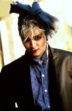 Photo - Lady Moriarty - Madonna - 80s inspiration for CATs Vintage - 1980s style - fashion