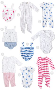 Our favorites from @adenandanais' new Layette Collection! Launching July 2015.