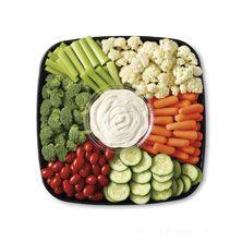 Publix Deli Garden Fresh Vegetable Platter, Medium Serves 16-20