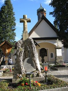 Oberammergau Church, Germany