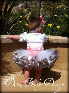 Ribbon Tutu in your choice of colors size by DivaBabyDesigns, $39.99       I NEED THIS! :)