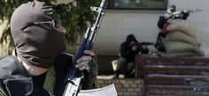 Горсовет города Торез зачищен от сепаратистов