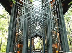 E. Fay Jones, Thorncrown Chapel.