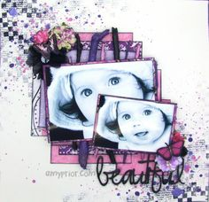 Beautiful by Amy Prior - Scrapbook.com