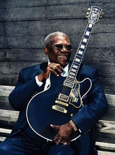 B.B. King: Een grandioze bluesgitarist, mooie showman en een leuk mens! Held!
