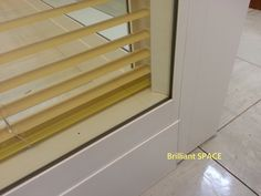 Glass System Wall 中文大學 (不上頂裝置,雙層清玻璃屏風-內置百葉 Double Clear Glass Panel with blind) 8