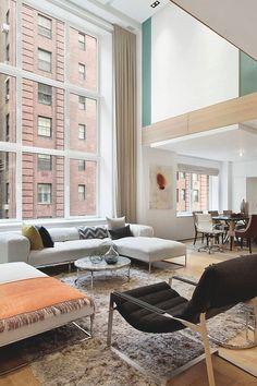 livingpursuit:  Duplex in New York