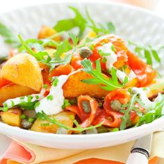 Vegetable Recipes, Meat Recipes, Salad Recipes, Healthy Cooking, Healthy Snacks, Healthy Recipes, Pesco Vegetarian, Easy Food To Make, Skinny Recipes