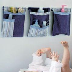 Rangements muraux pour bébé ; créa finie